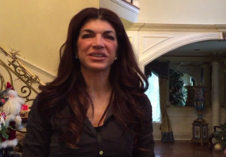 "Teresa Giudice Says ""I'm Back!"" in First Video Post-Prison"