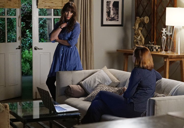 Spencer and Veronica Hastings on Pretty Little Liars