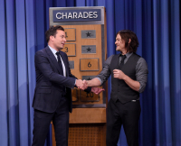 Jimmy Fallon and Norman Reedus Play Charades