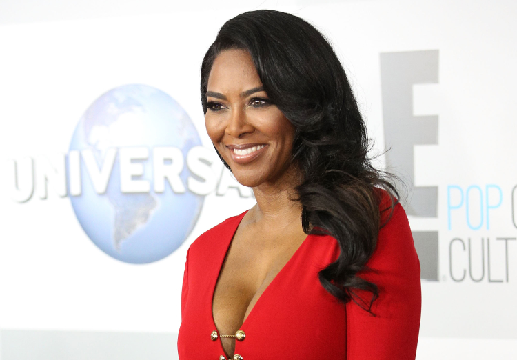 Kenya Moore Attends NBCUniversal's 72nd Annual Golden Globes After Party at The Beverly Hilton Hotel on January 11, 2015