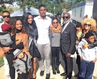 Phaedra Parks and Members of the RHoA Cast in Washington D.C.