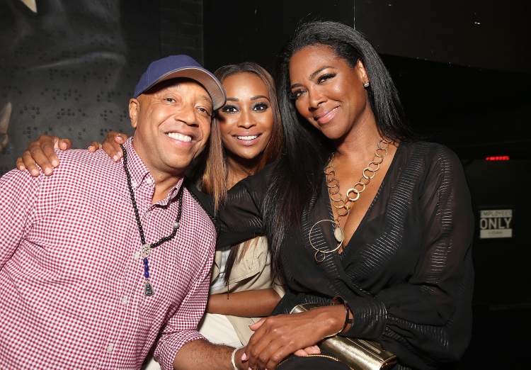 Russell Simmons, Cynthia Bailey Kenya Moore