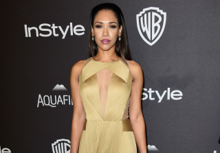 'Flash' Actress Candice Patton Flashes Undies at Golden Globes Party (PHOTO)