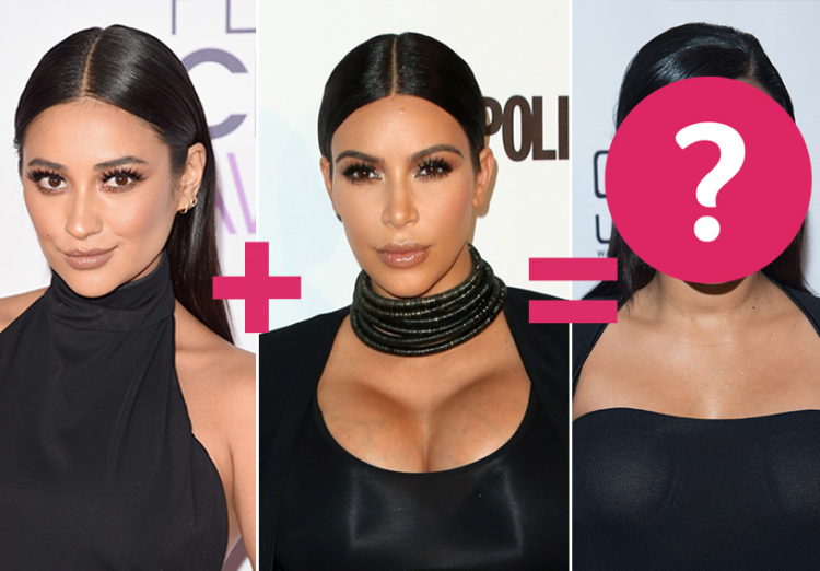 celebrity lookalikes face equations