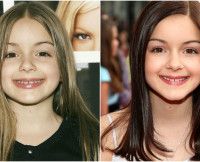 Celebrity transformations, Ariel Winter
