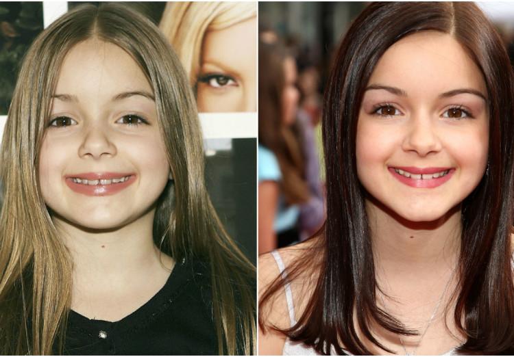 Celebrity transformations, Ariel Winter