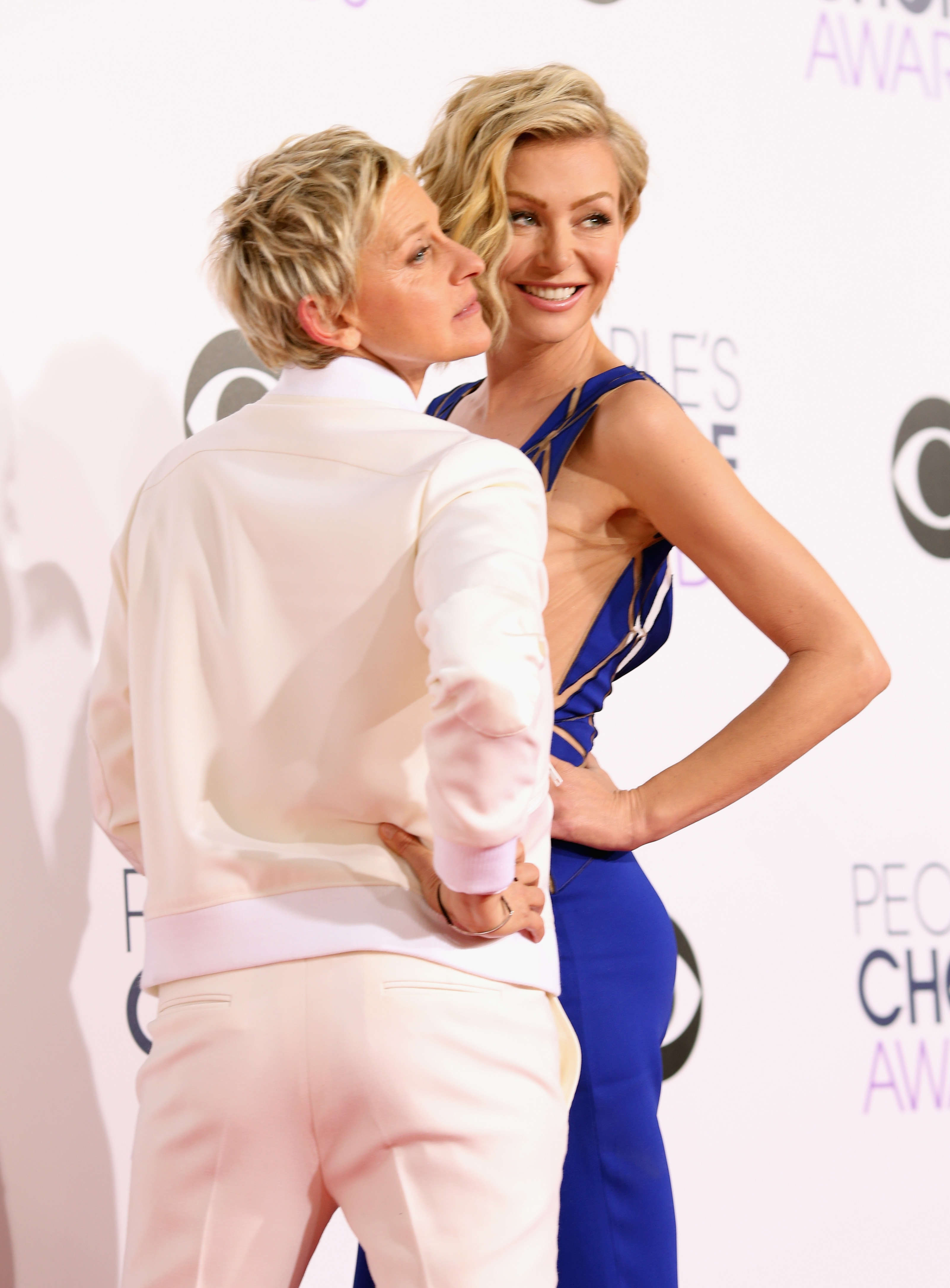 how did ellen degeneres meet portia de rossi