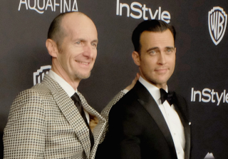 'American Horror Story' Star Denis O'Hare Rocks High Heels at Golden Globes 2016