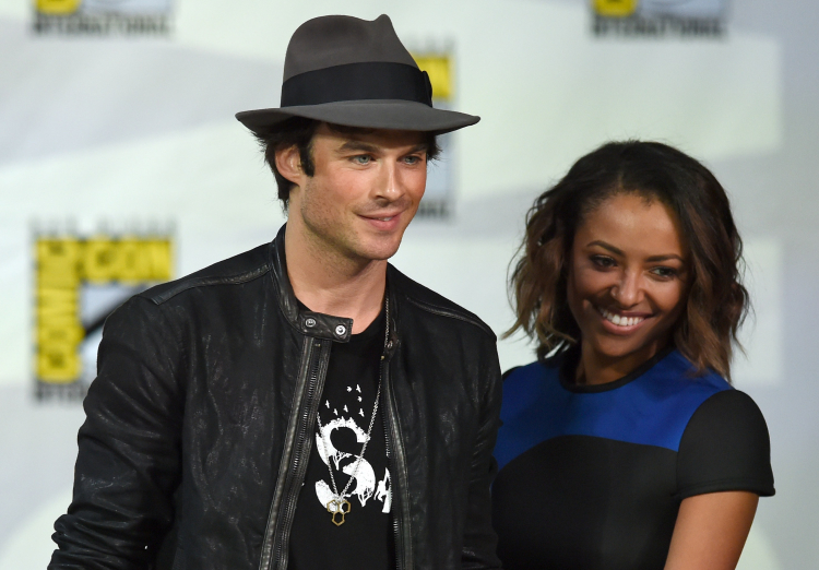 Ian Somerhalder And Katerina Graham