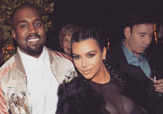 Kim Kardashian Supports Kanye and Debuts Her Post-Baby Bod (PHOTOS)