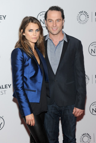 Keri Russell birth, Matthew Rhys