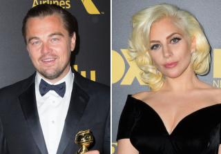 Leonardo DiCaprio & Lady Gaga Laughed Off Awkward Golden Globes Moment