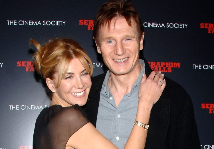 Celeb about what liam neeson reveals about his late wife for Natasha richardson and liam neeson