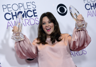 Melissa McCarthy Looked Gorgeous at the People's Choice Awards (PHOTOS)