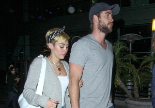 Miley Cyrus, Liam Hemsworth Planning a Small Wedding — Report