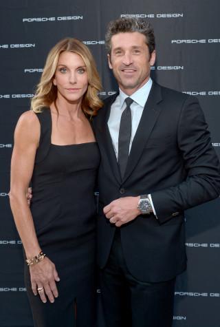 Patrick Dempsey, wife Jillian Dempsey