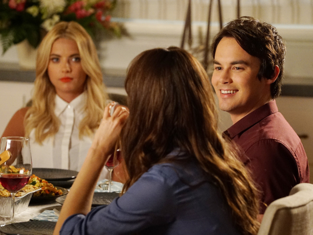 Hanna, Spencer, Caleb Pretty Little Liars