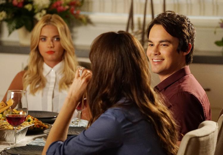 Hanna, Spencer, Caleb Pretty Little Liars