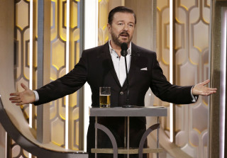 Golden Globes 2016: Ricky Gervais Lashes Back at Transphobia Accusations