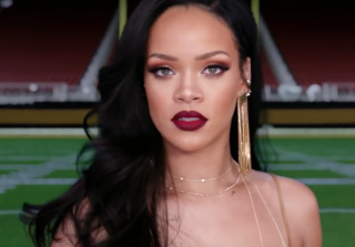 It\'s 1 Rihanna Vs. 3 Men in Promo For Super Bowl & Grammys (VIDEO)