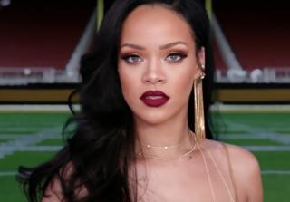 It\'s 1 Rihanna Vs. 3 Men in Promo For Super Bowl & Grammys (VIDEO)