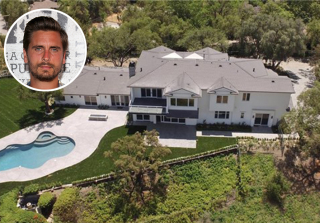 Scott Disick Buys $6 Million Bachelor Pad — and It's Close to the Kardashians! (PHOTOS)