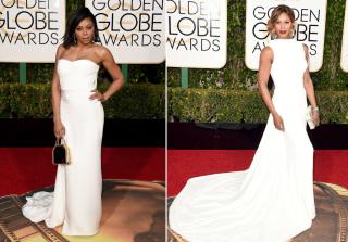 Golden Globes 2016: Taraji P. Henson vs. Laverne Cox in White