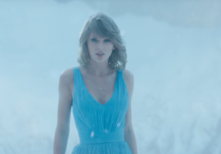 """Taylor Swift's """"Out of the Woods"""" Dress Is Identical to Harry Styles Breakup Dress"""