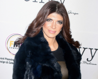 Teresa Giudice makes first public appearance since leaving jail