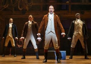 Hamilton — Lin Miranda Manuel and Broadway Cast