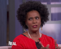 Actress Janet Hubert on The Real