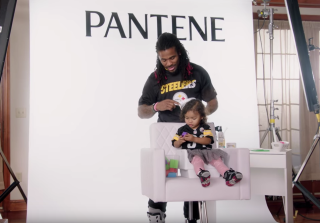 NFL Players Comb Daughters' Hair For Super Bowl 2016 Commercial (VIDEO)