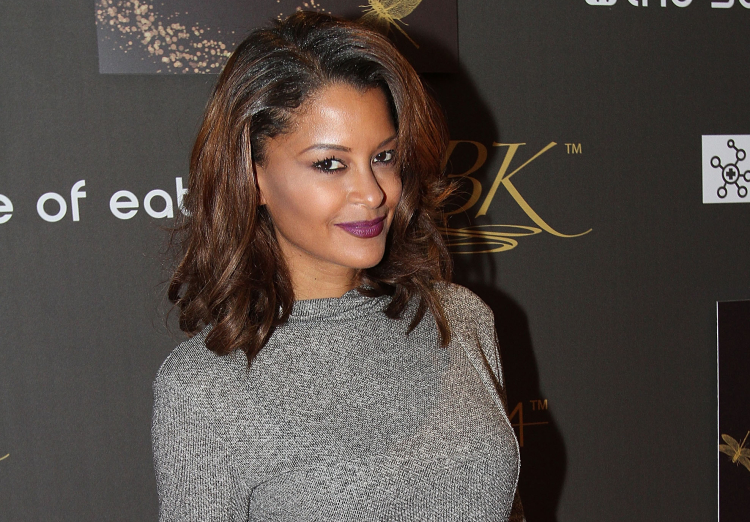 Claudia Jordan Attends GBK & Pilot Pen Golden Globes 2016 Luxury Lounge on January 9, 2016 in Hollywood
