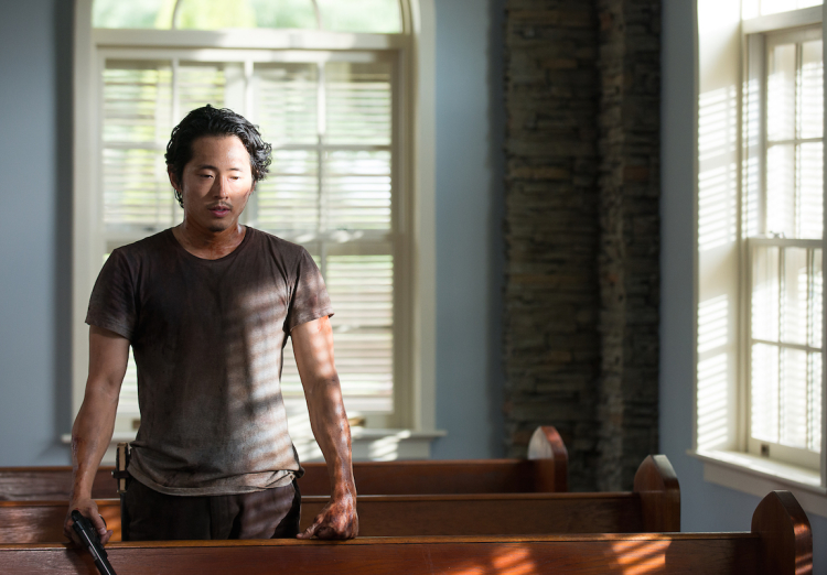 Glenn Walking Dead Season 6 Midseason Premiere