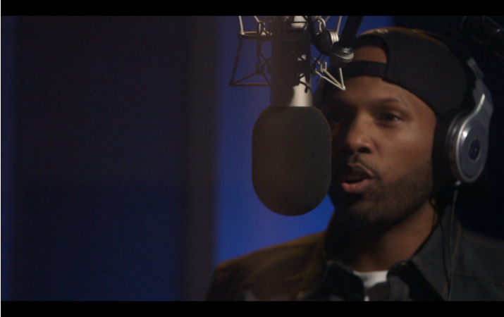 Mendeecees Harris Raps in the Booth