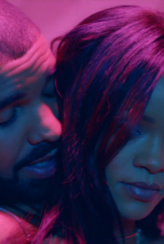 Rihanna and Drake in Work Video