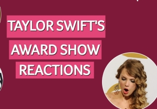 See Taylor Swift's Award-Winning Reactions at Awards Shows (VIDEO)