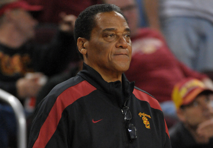 Celebrities Attend USC Basketball Game