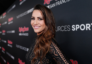 "Andi Dorfman Calls Athletes Her ""Weakness"" at Super Bowl 50 Event (VIDEO)"