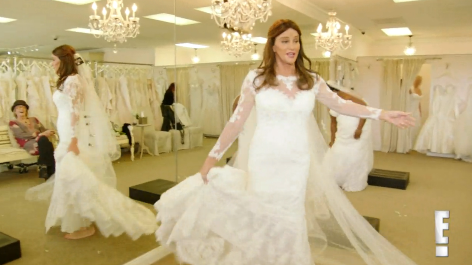 Caitlyn Jenner Is A Blushing Bride On I Am Cait Premiere