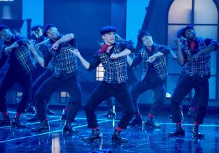 Derek Hough Dances Amazing \'Mary Poppins\' Tribute With Dick Van Dyke (VIDEO)