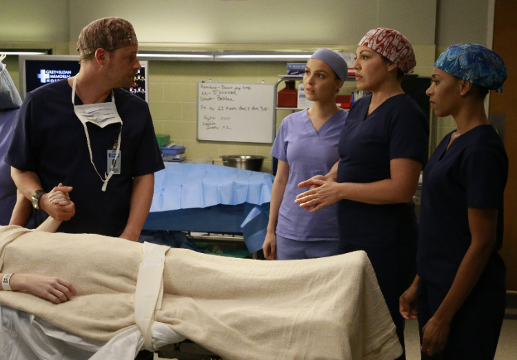 Grey's Anatomy Season 12, Alex, Callie, Maggie