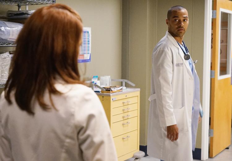 Grey's Anatomy, Season 12, April Kepner, Sarah Drew, Jackson Avery, Jesse Williams