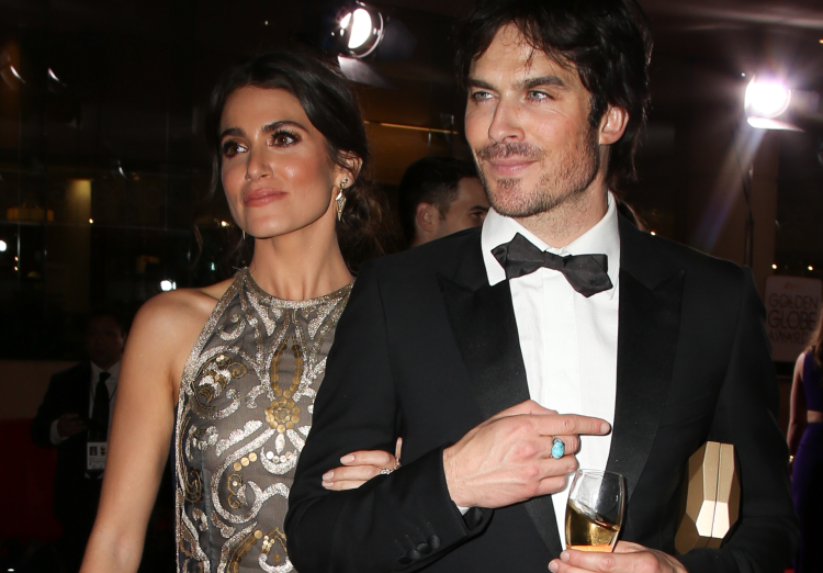 Nikki Reed and husband Ian Somerhalder spotted between Golden Globes after parties