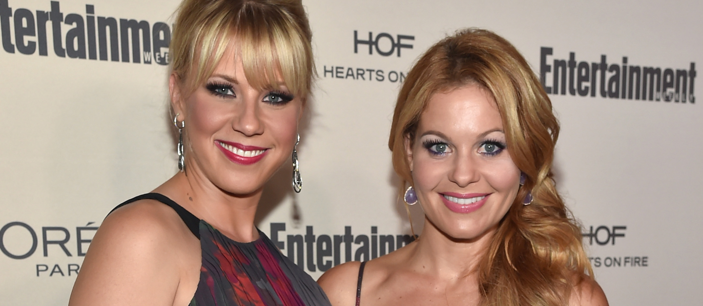 Jodie Sweetin and Candace Cameron-Bure