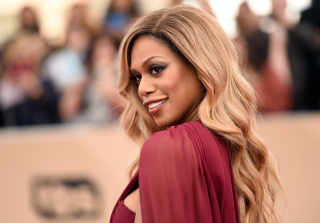 Laverne Cox Shares Makeup & Wig-Free Selfie (PHOTO)