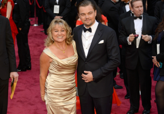 Leonardo DiCaprio and His Parents Celebrate Oscar Win