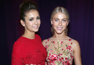 Nina Dobrev Is an Honorary Pink Lady Thanks to Julianne Hough (PHOTO)