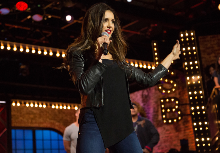 nina dobrev lip sync battle