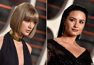 Taylor Swift, Demi Lovato at Same Oscars Party & More (PHOTOS)